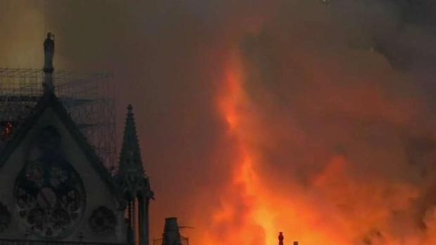 [NECN] Witnesses to Notre Dame Fire Return to New England