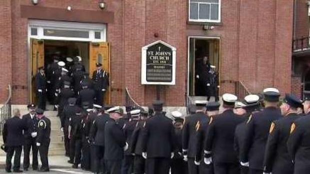 Worcester Community Remembers Fallen Firefighter