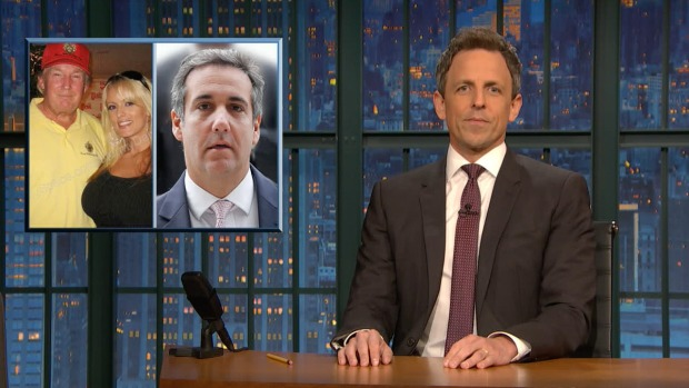 [NATL] 'Late Night' Closer Look: Trump Fixer Michael Cohen Had a Secret Slush Fund