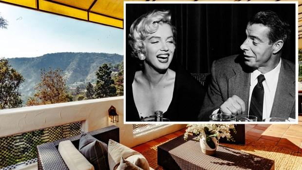 [LA-NATL] Old Hollywood Glam: Marilyn Monroe and Joe DiMaggio's Honeymoon Love Nest Is in Escrow
