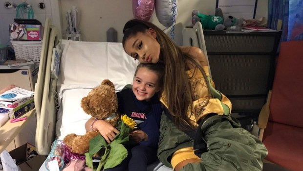 Ariana Grande delivers for Manchester
