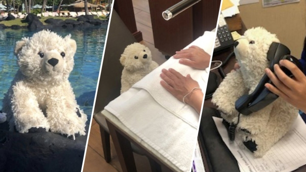 [NATL] Hotel Chronicles the Adventures of a Little Boy's Lost Bear