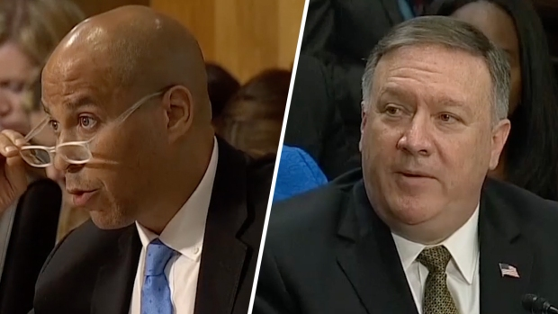 [NATL] Booker Questions Pompeo on Gay Marriage Stance