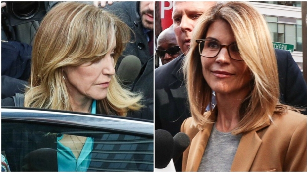 Huffman, Loughlin in Court for College Admissions Scheme