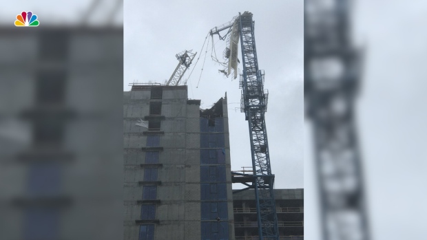 Construction Crane Collapses in Downtown Miami