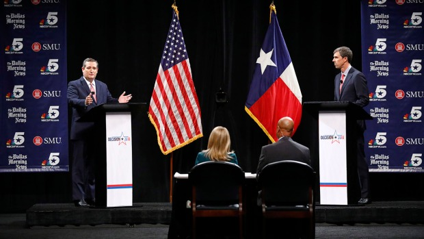 [NATL-DFW] Sparks Fly in First Cruz, O'Rourke Debate: Full Debate