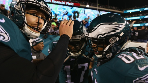 [NATL] Patriots, Eagles Advance to Super Bowl LII