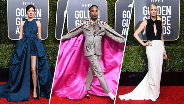 [NATL] Stars Shine on the 2019 Golden Globes Red Carpet