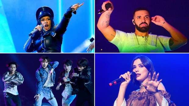The 2019 Grammy Nominees: Cardi B, Drake, BTS, and More