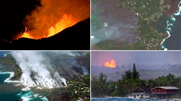 Scenes From Kilauea: Hundreds of Homes Destroyed Overnight
