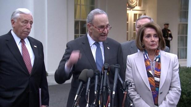 [NATL] Congressional Leaders Discuss Government Shutdown