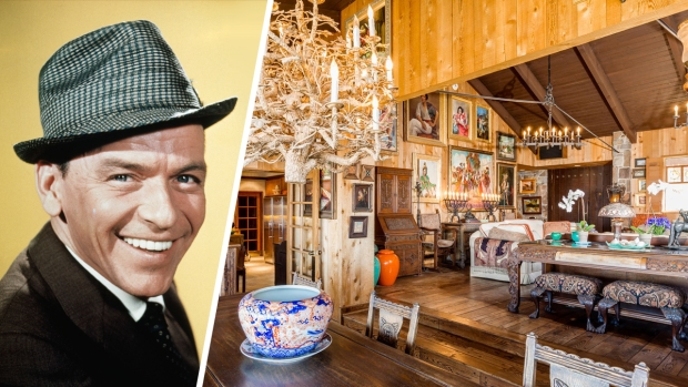 [NATL-LA]Frank Sinatra's Rustic Palm Springs Villa Maggio Back on Market for $4.5M