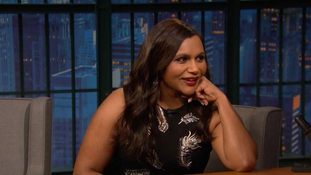 [NATL] 'Late Night': Mindy Kaling Talks About 'Ocean's 8'