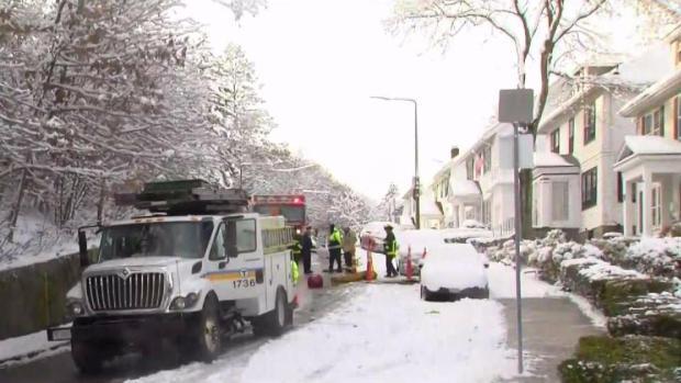 [NECN] Multiple Manhole Fires Reported in Boston