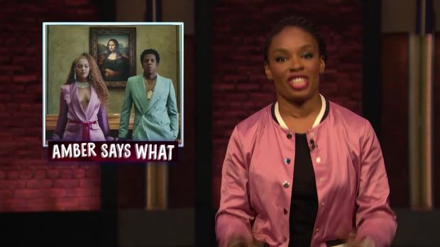 [NATL] 'Late Night': Amber Says What to Beyoncé and Jay-Z's Joint Album, Papa John