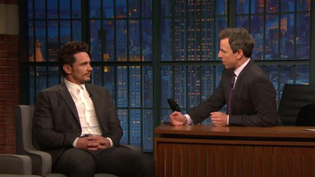 Late Night: James Franco Addresses His Sexual Misconduct Allegations