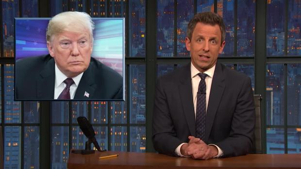 [NATL] 'Late Night': A Closer Look at Trump's Response to Cohen