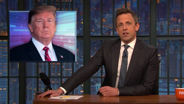 [NATL] 'Late Night': A Closer Look at Trump, Immigration