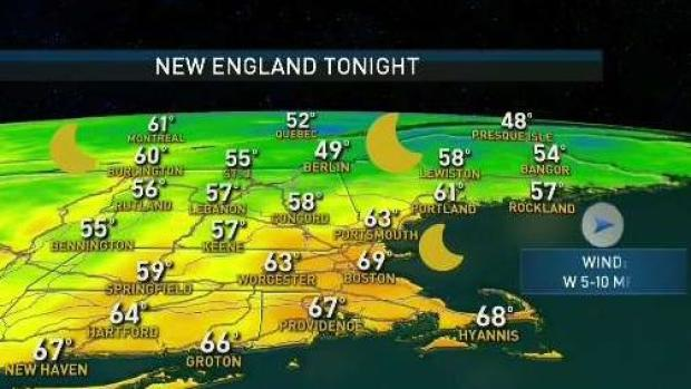 [NECN] Weather Forecast: Summer Heat Continues Monday
