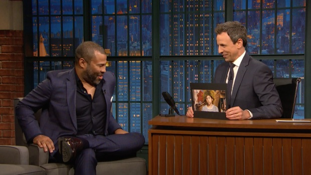 [NATL] 'Late Night': 'Get Out' Director Jordan Peele Shares Embarrassing 'Beetlejuice' Costume