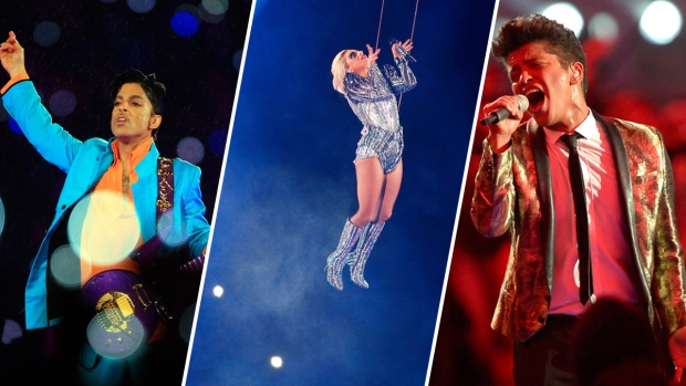 [NATL] Memorable Super Bowl Halftime Shows