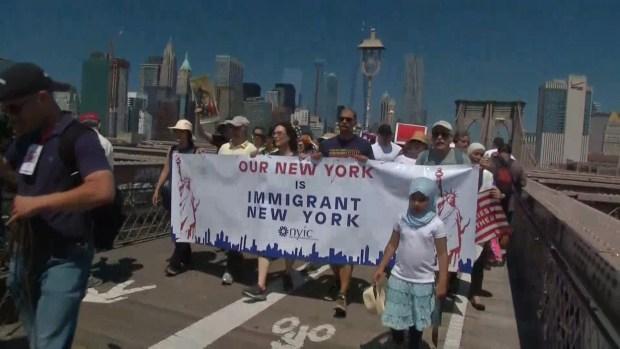 [NATL] Thousands Across US Protest Zero-Tolerance Immigration Policies