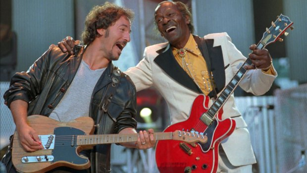 Rock 'n' Roll Legend Chuck Berry Through the Years