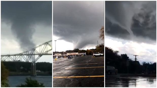 WILD IMAGES: Funnel Clouds, Severe Damage as Strong Storms Move Through