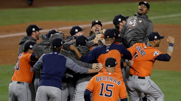 [NATL] Astros Beat Dodgers for 1st World Series Title in Team's History