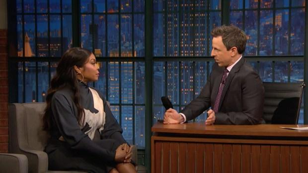 [NATL] 'Late Night': Taraji P. Henson Shot 'Acrimony' in Eight Days