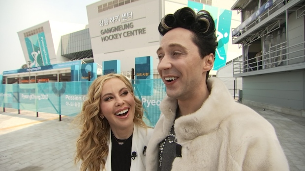 [NATL] Tara Lipinski and Johnny Weir's Valentine's Day Advice