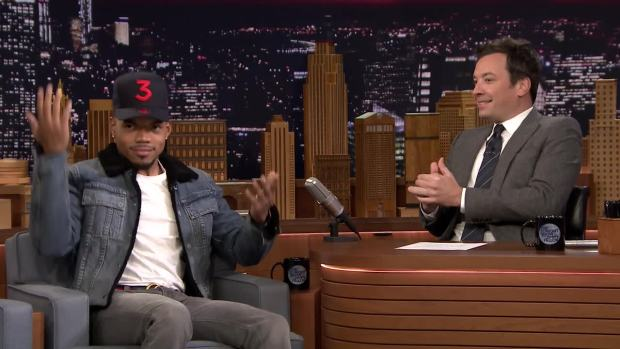 [NATL] 'Tonight': Chance the Rapper Wishes He Could Hang with Drake More