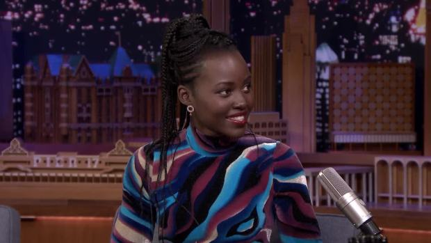 [NATL] 'Tonight': Lupita Nyong'o's Rapping Alter Ego Freestyles