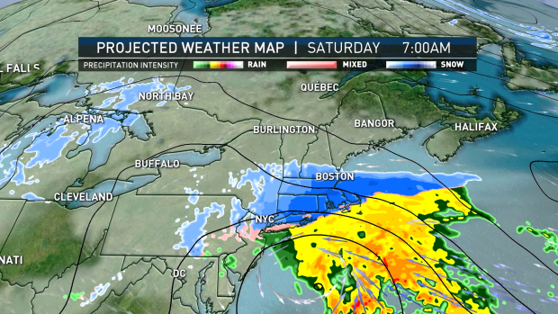 TIMELINE: 2 Weekend Storms Hitting Region With Snow