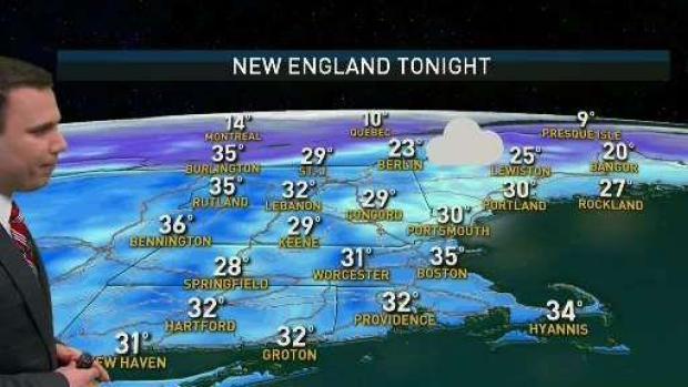 [NECN] Monday Will Turn Sunny With Highs Around 50