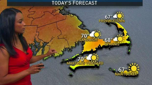 [NECN] Sunny Saturday, Showers Move in Overnight