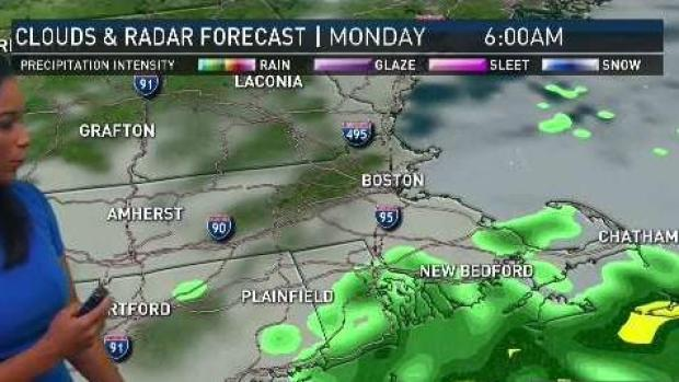 [NECN] Pleasant Sunday Before Rain Returns Monday