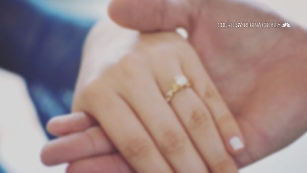 [NATL]  Love Prevails! Barry Can't Rain on Couple's Unforgettable Day