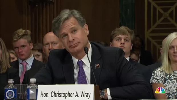 [NATL] Trump's FBI Director Nominee Christopher Wray Comments on Donald Trump Jr.'s Emails