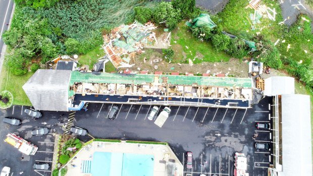 These Images Show the Power of Tuesday's Cape Cod Tornado