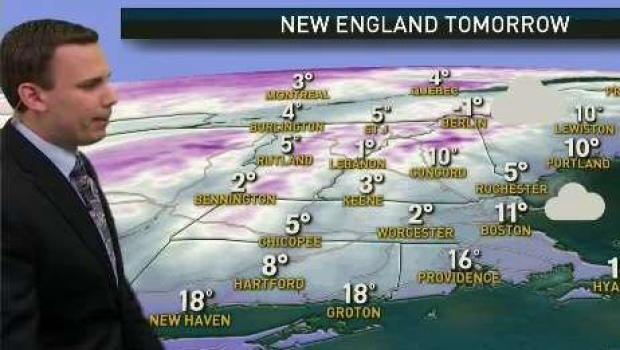 [NECN] Black Ice on Roads and Frigid Temperatures Ahead