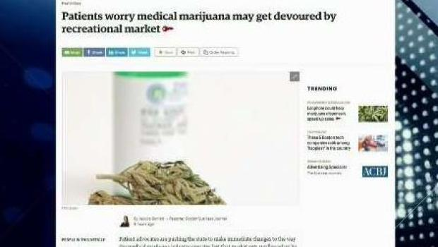 [NECN] BBJ Report: Could Medical Marijuana Get Devoured by Recreational Market?