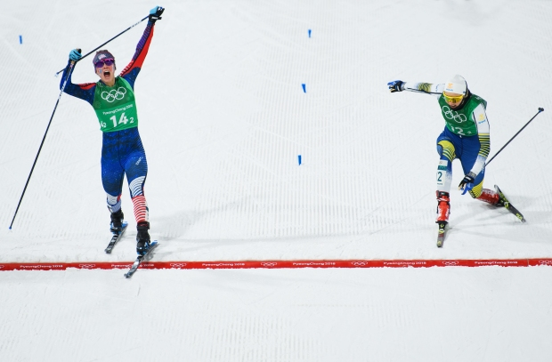 Vt. Ski Academy Celebrates Gold Medal Win by Athlete Mentor