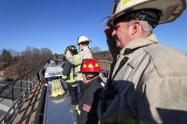 IMAGES: Fallen Worcester Firefighter Honored With Procession