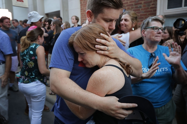 [NATL] Shock, Sadness and Anger After Violent Charlottesville Weekend
