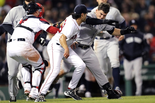 Fenway Fight: Scenes From Wednesday's Massive Red Sox-Yankees Brawl