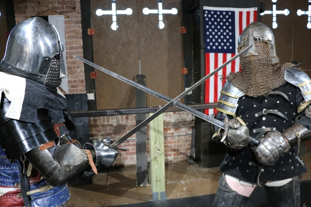 Inside the Armored Combat League