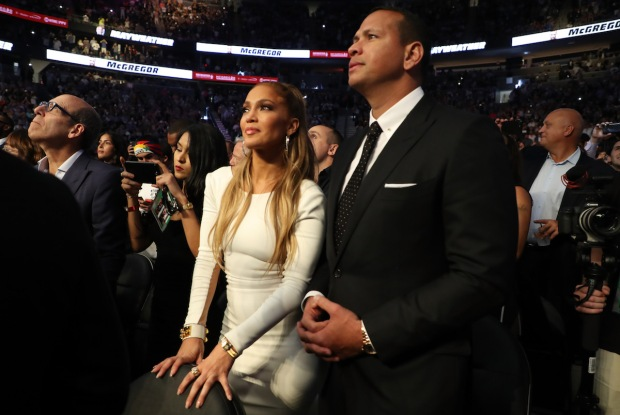 Celebs in the Stands: Stars at the Mayweather-McGregor Fight