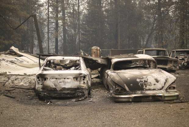 Camp Fire Leaves Small California Town in Ashes