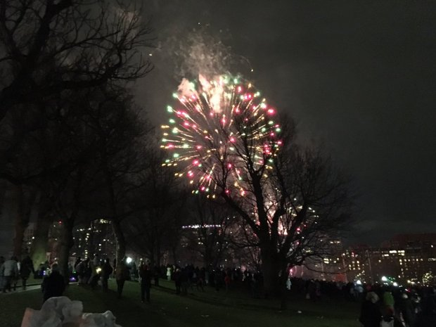 [NECN] WATCH: First Night Fireworks